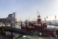 Elbphilharmonie Hamburg, Tyskland royaltyfri bild