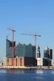 Elbphilharmonie Hamburgo Imagens de Stock Royalty Free