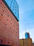 Elbphilharmonie. At sunset in spring Stock Image