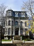 Elbridge G. Keith House Royalty Free Stock Photo