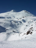 elbrus欧洲高山 免版税库存图片