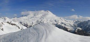Elbrus, 5642 m, Kaukasus, Russland Lizenzfreies Stockbild