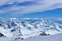 Elbrus山  免版税库存照片
