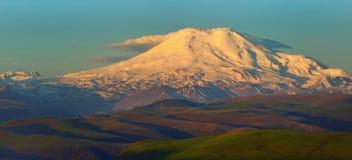 Elbrus in break Royalty Free Stock Photography