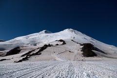 Elbrus. Caucasian ridge Elbrus mountain 2 Stock Images