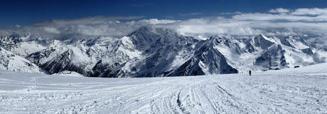 Elbrus, Caucaso, Russia Fotografia Stock
