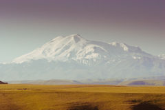 Elbrus Caucasus Mountains Stock Image