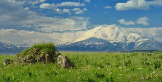 Elbrus in cloud Royalty Free Stock Photography