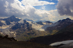 Elbrus clouds Royalty Free Stock Images