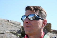 Elbrus in der Reflexion Lizenzfreie Stockbilder