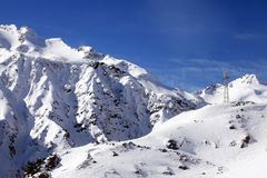 Elbrus góra obraz stock