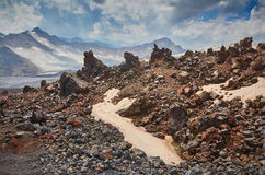 Elbrus krajobraz Zdjęcia Stock