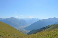 Elbrus krajobraz, góra Zdjęcia Royalty Free