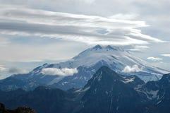 Elbrus majestueux Photos stock
