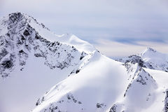 Elbrus Mount. Russia. Caucasus. View on Elbrus Mount - the highest point of Europe royalty free stock images