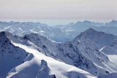 Elbrus Mount Royalty Free Stock Photography