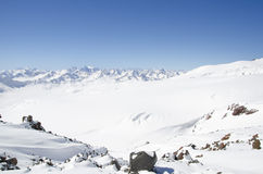 Elbrus mountains Stock Images