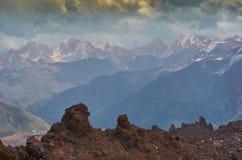 Elbrus północ Obrazy Royalty Free