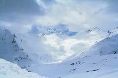 Elbrus peak Stock Photo