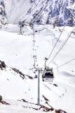 elbrus Powietrzny dźwignięcie na pierwszy poziomie Obraz Stock