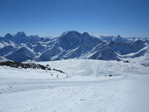 Elbrus mountains Stock Photography