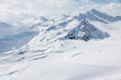 Elbrus ski resort Royalty Free Stock Images