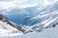 Elbrus ski resort Stock Image