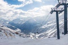 Elbrus ski resort Royalty Free Stock Photos