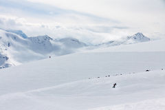 Elbrus ski resort Royalty Free Stock Photo
