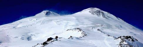 Elbrus - a sleeping volcano Stock Image