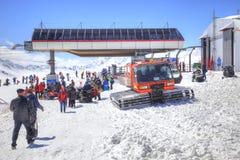 elbrus Stacja Powietrzny dźwignięcie Zdjęcia Royalty Free