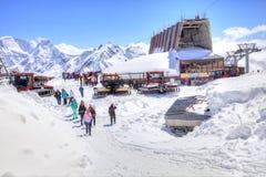 elbrus Stacja Powietrzny dźwignięcie Obraz Royalty Free