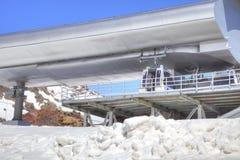 elbrus Stacja Powietrzny dźwignięcie Zdjęcia Stock