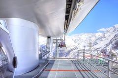 elbrus Stacja Powietrzny dźwignięcie Zdjęcie Royalty Free