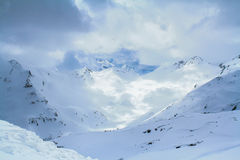 Elbrus szczyt Zdjęcie Stock
