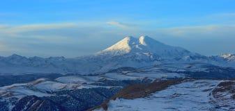 Elbrus in winter Royalty Free Stock Photos