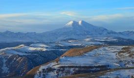 Elbrus in winter Stock Images