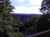 Elbsandsteingebirge stockbild