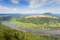 Elbsandsteingebirge Stock Images