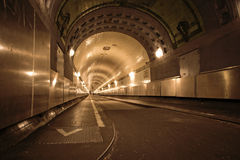 Elbtunnel in Hamburg Stock Image