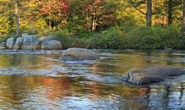 Elch-Fluss-Herbst Lizenzfreie Stockfotografie