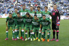 Elche CF lineup Stock Photos