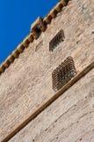 Elche Elx Alicante Altamira slott nära el Palmeral Arkivbild