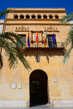 Elche Elx Alicante Ayuntamiento city town hall Royalty Free Stock Image