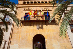 Elche Elx Alicante Ayuntamiento city town hall Stock Image