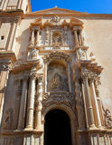 Elche Elx Basilica de Santa Maria church in Alicante Spain Stock Image