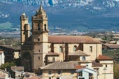 Elciego village, spain Stock Photo