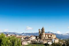 Elciego village, spain Royalty Free Stock Images