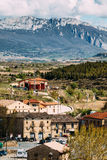 Elciego village, spain Royalty Free Stock Photography