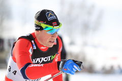 Eldar Roenning - cross country skier Royalty Free Stock Images